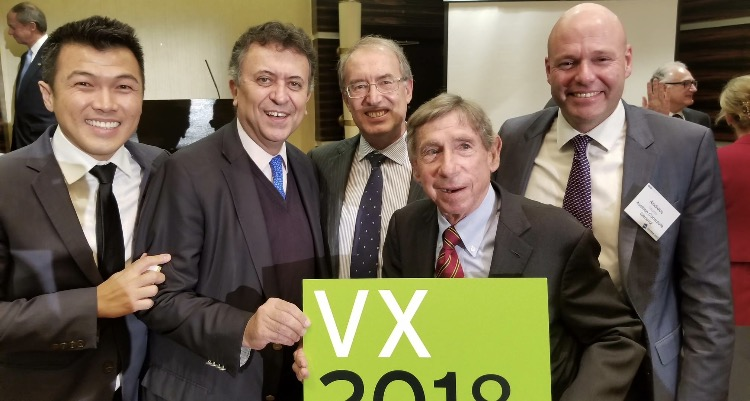Stephen Cheung and Mickey Kantor VX2018