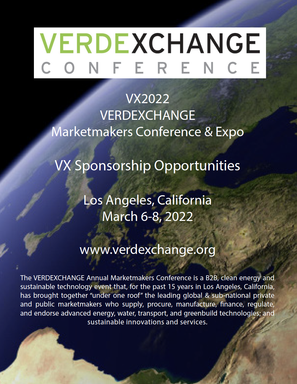 VX2022 Sponsorship Opportunities