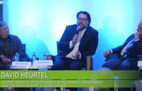 VX2017 Quebec Minister David Heurtel at VerdeXchange 2017