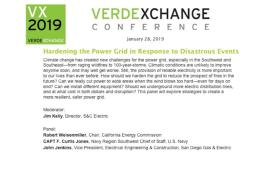 VX2019: Hardening the Power Grid in Response to Disastrous Events