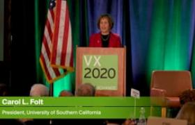 VX2020 - On Making Sustainability a Mission Priority