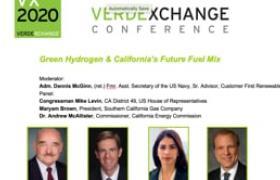 Green Hydrogen & California's Future Fuel Mix