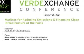 VX2021 - PORTS - Markets for Reducing Emissions & Financing Clean Infrastructure at the Ports