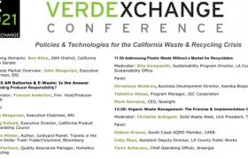 VX2021 -WASTE- Policies & Technologies for  California's Waste & Recycling Crisis