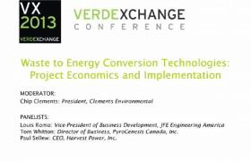 Waste-to-Energy Conversion Technologies: Project Economics and Implementation