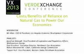Costs/Benefits of Reliance on Natural Gas to Power our Economies