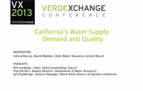 California's Water Supply: Demand & Quality