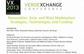 Renewables: Solar & Wind Marketplace - Strategies, Technologies, and Funding