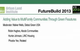 Adding Value to Multifamily Properties Through Green Features